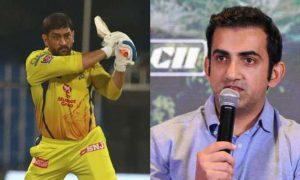 Gautam Gambhir questions MS Dhoni's captaincy decisions against the Rajasthan Royals.