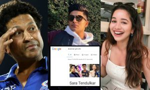 Google goofs-up yet again, shows Sara Tendulkar as Shubman Gill's wife