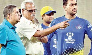 CSK CEO Dhoni IPL 2021