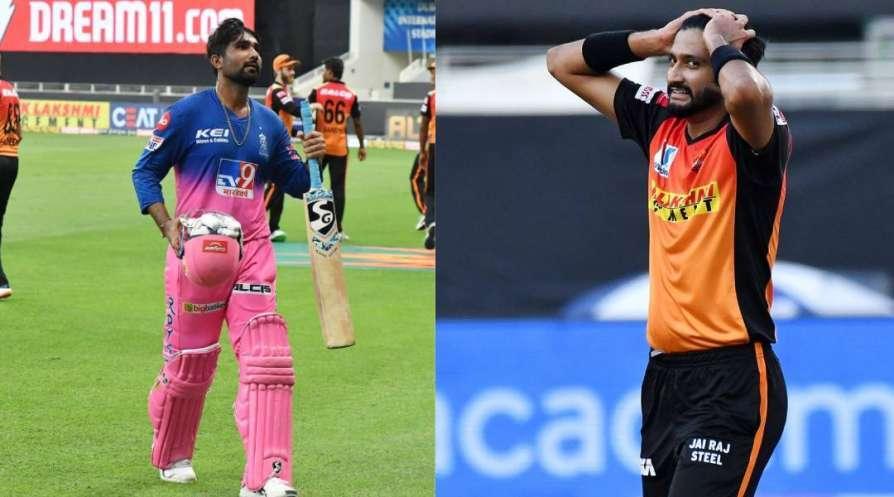 David Warner steps in and resolves onfield tiff between Khaleel Ahmed and Rahul Tewatia