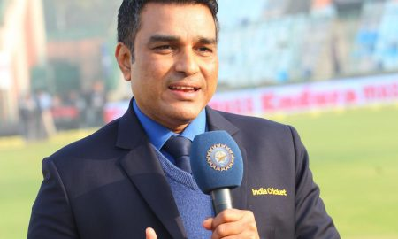Sanjay Manjrekar rebutted after a Twitter user claimed him and his fellow commentators of being afraid of criticizing Dhoni