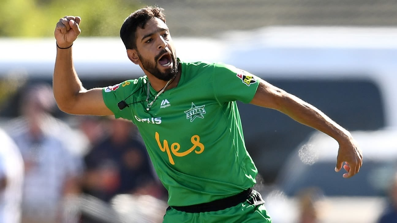 Haris Rauf comes up with a sweet gesture after castling Shahid Afridi with a stunning delivery