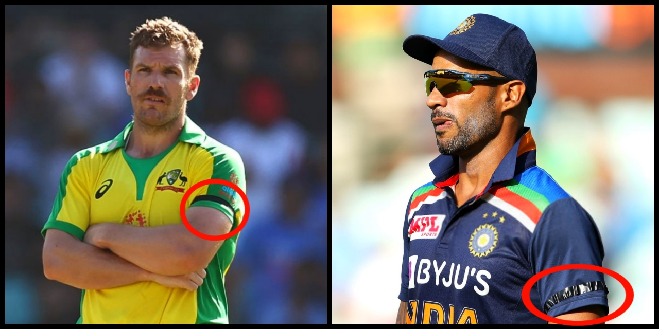 Shikhar Dhawan and Aaron Finch (Photo - Getty Images)