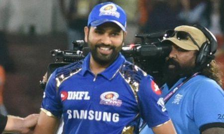 Rohit Sharma wins hearts as he asks Rahul Chahar to lead the convoy