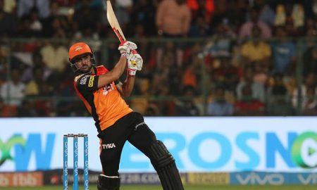 Manish Pandey's'Huge Six' does the talking and leaves Virat Kohli fuming