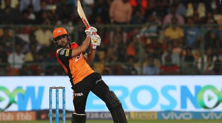 Manish Pandey's 'Huge Six' does the talking and leaves Virat Kohli fuming