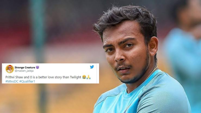 Indian youngster Prithvi Shaw and his current form nowadays become a hot topic for social media memes.
