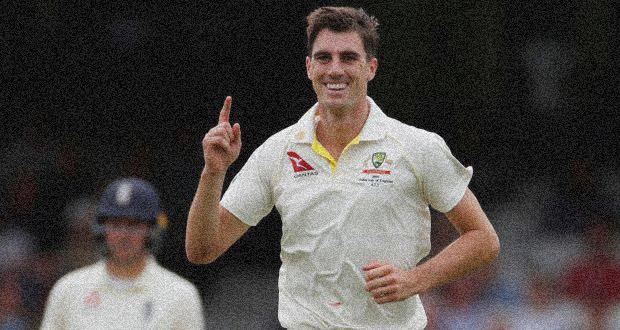 is awarded Player of the match for his decent knock and Australian Bowler Pat Cummins declares as the man of the series after the today cricket match.