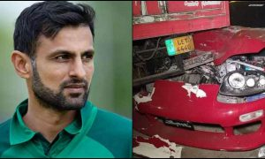 Shoaib accident Lahore