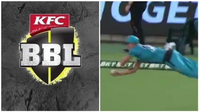 Eliminator took place on 29th Jan b/w Brisbane Heat and Adelaide Strikers. Highlight of the match was the one-handed catch by Ben Laughlin.