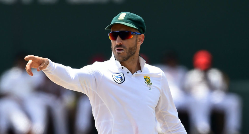 ICC commits a blunder by posting an ill-suited picture of Faf du Plessis