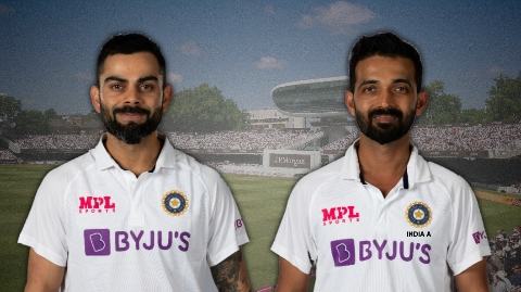 Virat and Rahane to came face to face in India vs India A practice match (Pic - Twitter)