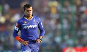 Sreesanth marks his return to cricket in style and with a lot of emotions