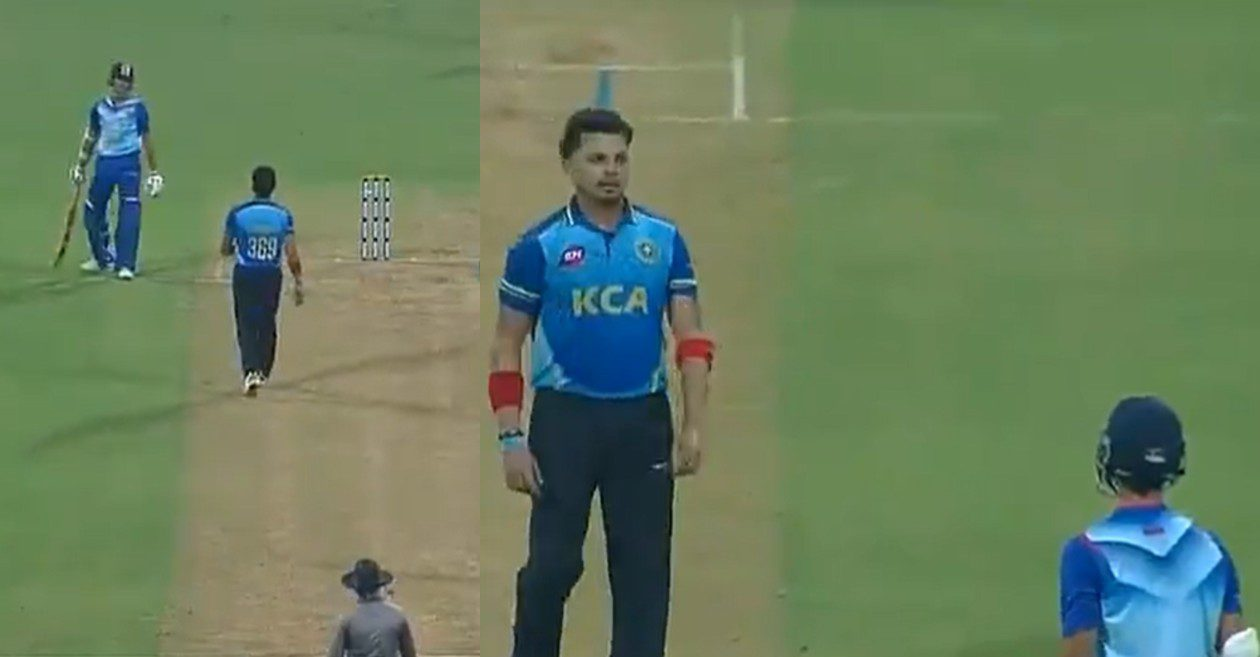 Yashasvi Jaiswal gives a befitting reply to Sreesanth's sledging in Syed Mushtaq Ali Trophy