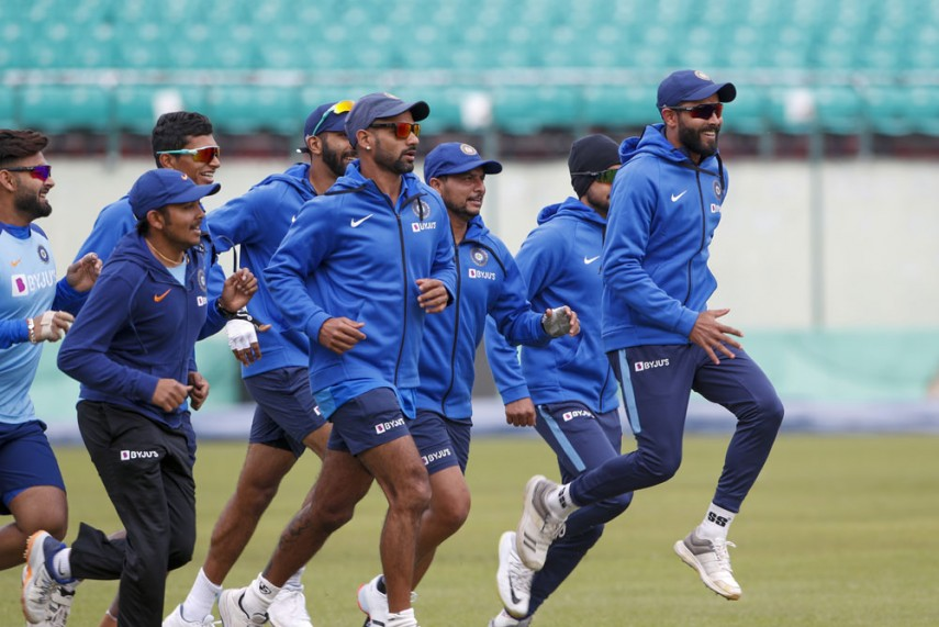 Team India (AP Photo)