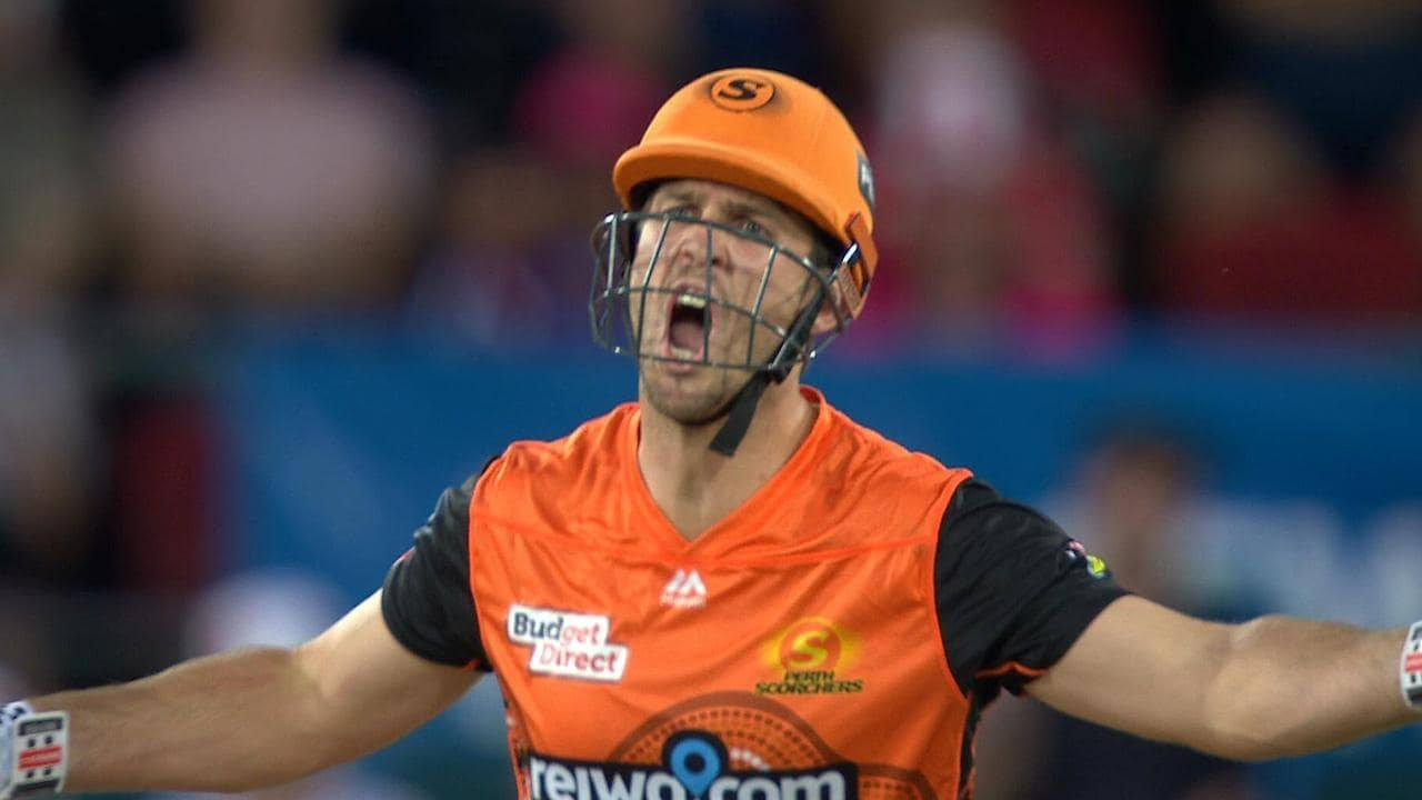 Mitchell Marsh in  BBL Match Today (Pic - Twitter)