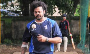 S Sreesanth turns leg spinner to take a wicket in Syed Mushtaq Ali Trophy