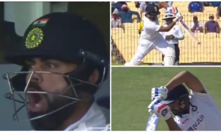 India vs England 2021: Rohit Sharma hits a cracking shot, Virat shouts'Yes Boy'