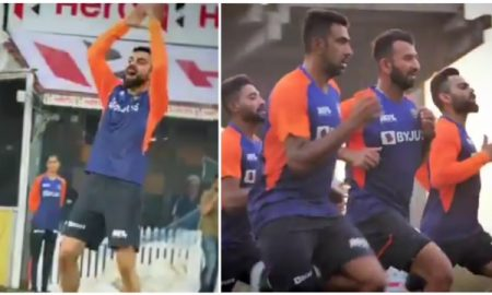 Team India trains hard for the upcoming home-series against England