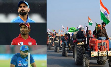After Rahanna lends support for Indian farmers, many cricketers tweet on farmers protest. Virat Kohli, Rohit Sharma gave their own opinions.
