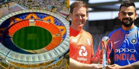 India vs England 2021 t20 squads has been announced. The 5-match t20 series is scheduled to begin on 12 March at Motera stadium Ahmedabad.