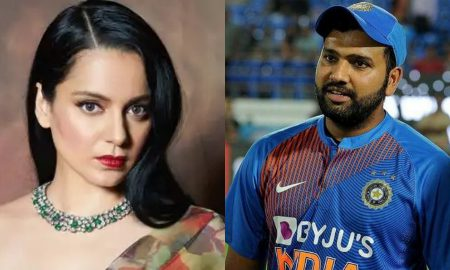 Twitter deleted a Kangana Ranaut tweet on the cricketer Rohit Sharma as she called him'dhobi ka kutta' for his remark on farmers protest.