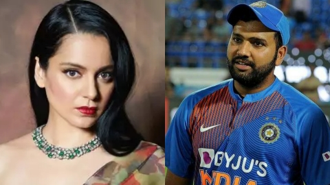 Twitter deleted a Kangana Ranaut tweet on the cricketer Rohit Sharma as she called him 'dhobi ka kutta' for his remark on farmers protest.
