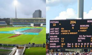 Indian engineer V Jayadevan invented the VJD method to calculate target of rain affected cricket matches. It differs from DLS rule