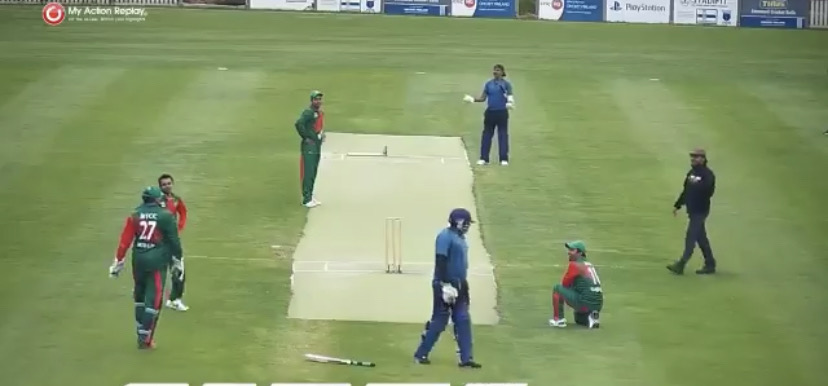 Comedy of fielding errors unfolds in European Division cricket match