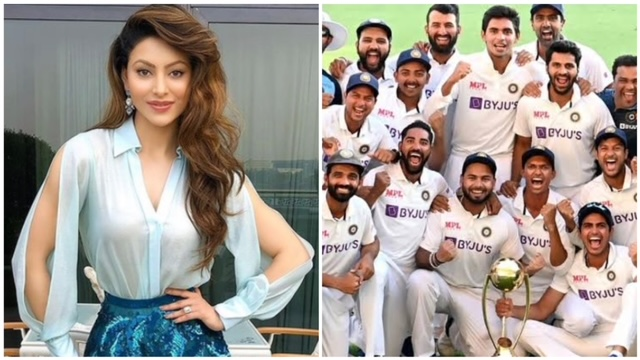 Bollywood actress started the'Q & A' session on her Insta. Meanwhile, Urvashi shocked the fans while answering about her favourite cricketer.