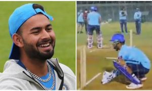 Delhi Capitals new captain hilariously trolling his mate Sam Billings in the net practice session. Watch Video