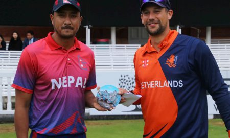 Nepal T20 tri-series vs Netherlands & Malaysia to commence on 17 April 2021. Nepal vs Netherlands live telecast channel in India is Fancode