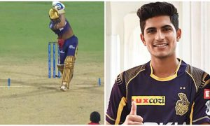 Watch: Shubman Gill clobbers T Natarajan for a smooth no-look six; SRH vs KKR, IPL 2021