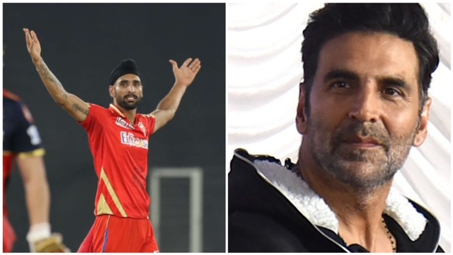 Punjab Kings' all-rounder Harpreet Brar slammed Bollywood star Akshay Kumar with his tweet. On Friday, Brar took 3 crucial wickets against RCB