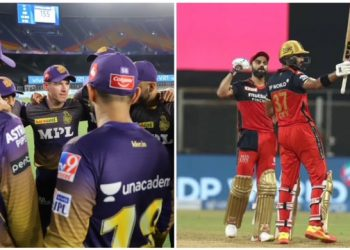 Varun CV and Sandeep WR have been tested COVID positive and now when and where RCB vs KKR (New Match Date 2021) match will be going to play.
