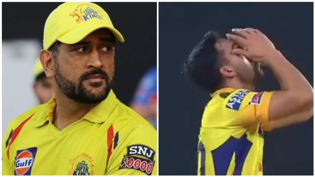 Deepak Chahar must have regretted not following MS Dhoni's advice in the game against Mumbai Indians. Watch full video of incident here