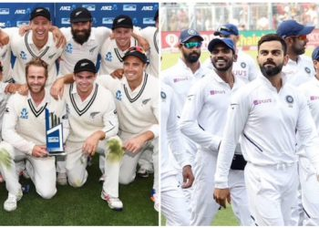 Nz and India probable squad for wtc final 2021. The match will be going to schedule from June 18 to 22. Fans are eagerly waiting for the clash
