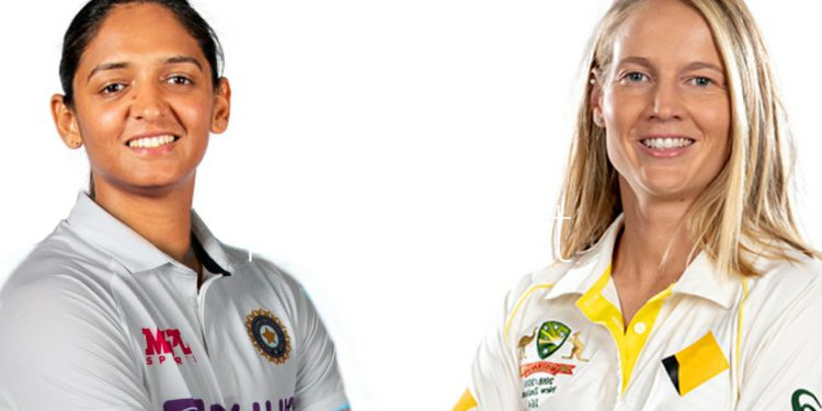 Harmanpreet Kaur and Meg Lanning are expected to lead both sides (Pic - Twitter)