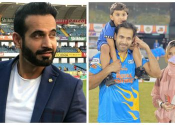 Irfan Pathan had posted blurred picture of his wife Safa Baig
