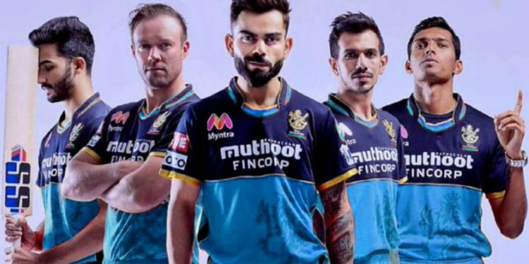 RCB to don blue jersey vs KKR to help India fight Covid