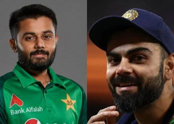 Saus Shakeel being called Pakistan's Virat Kohli due to similarities in looks with the Indian captain. Here's how Twitter reacted on this