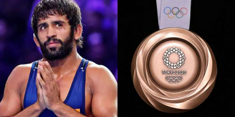 Brajrang Punia is eying his maiden Olympics medal (Pic - Twitter)