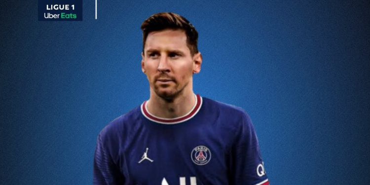 Messi to play for PSG in Ligue 1 (Pic - Twitter)