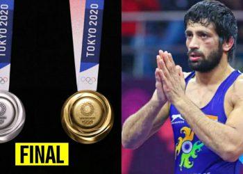 Ravi Kumar Dahiya assured of at least a Silver Medal (Pic - Twitter)