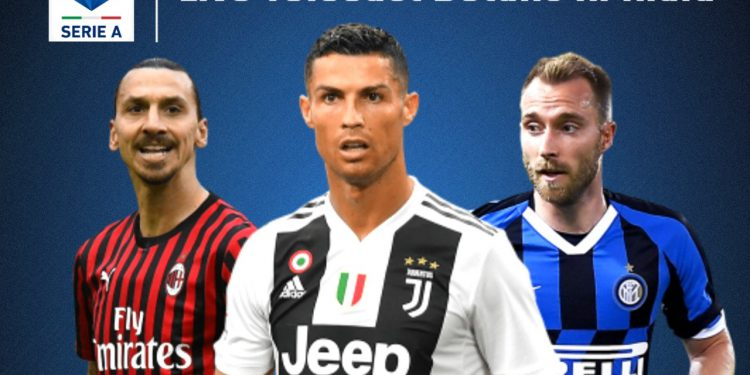 Stars like Ronaldo and Zlatan serve a role in Serie A's popularity in India (Pic - Twitter)