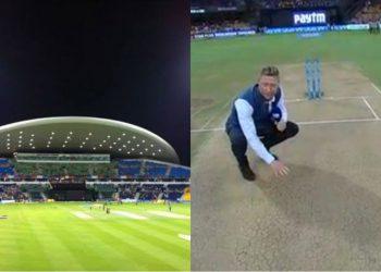 Eight IPL 2021 matches to be played at Sheikh Zayed Stadium Abu Dhabi's Pitch.