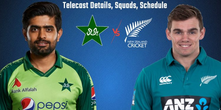 Babar Azam will lead the Pakistan side in series vs New Zealand.