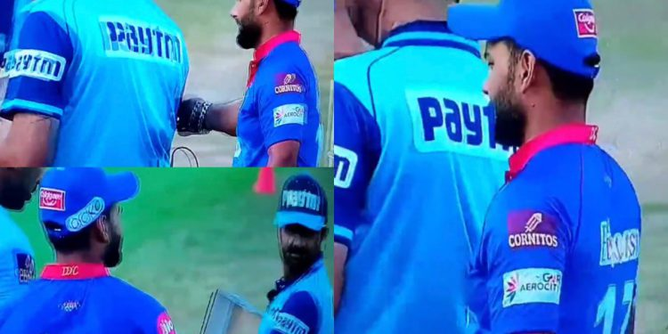 Rishabh Pant is undoubtedly one of the best when it comes to on-field chatter and having fun during the game (Pant in a comical mood).