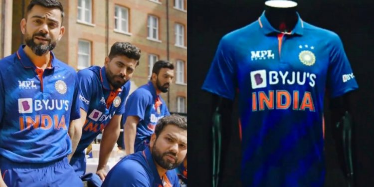 India New Jersey For T20 WC