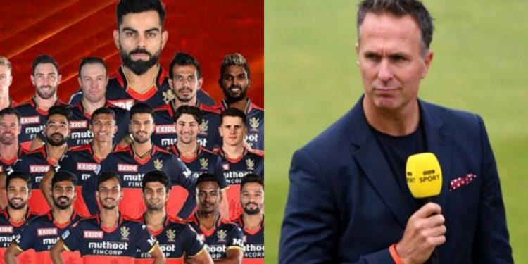 Michael Vaughan has his say on RCB's captaincy (Pic - Twitter)